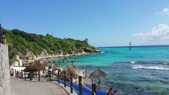 Garrafón Park en la Isla Mujeres
