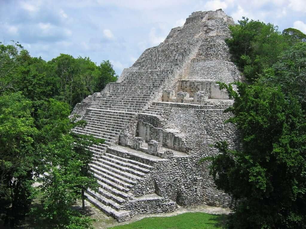 Piramide de Cobá en Cancún