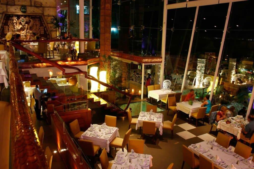 Restaurante La Habichuela Sunset en Cancún