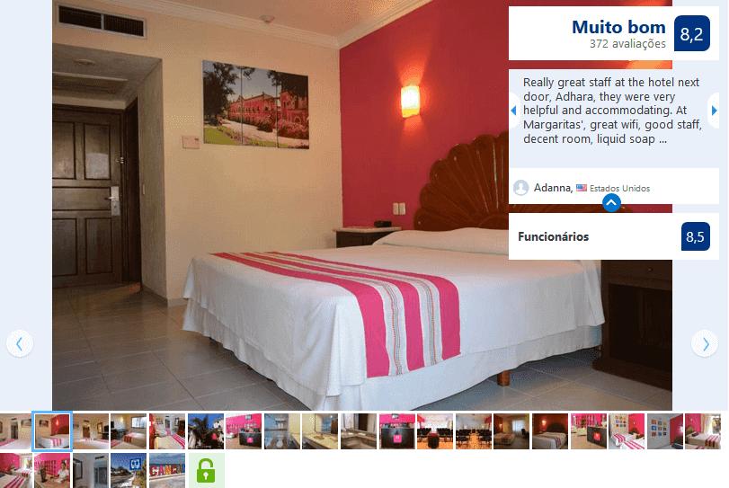 Hotel Margaritas para hospedarse en Cancún