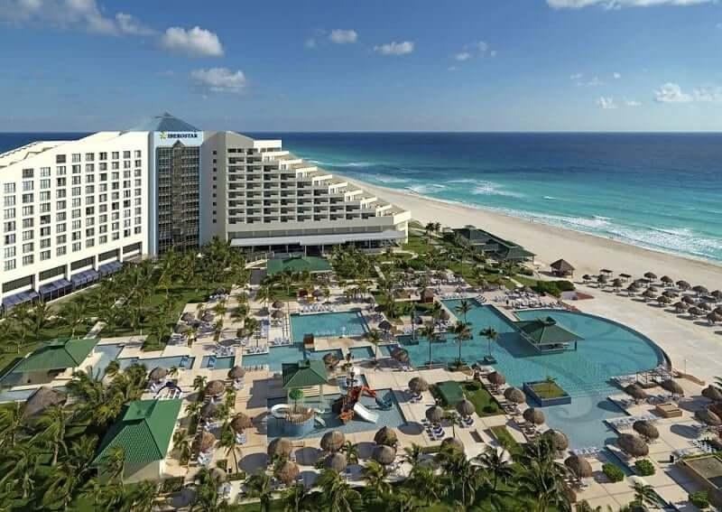 Hoteles buenos y baratos en Cancún