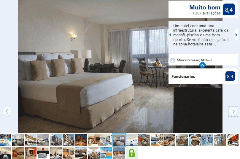 Sugerencias de hoteles en el Centro de Cancún