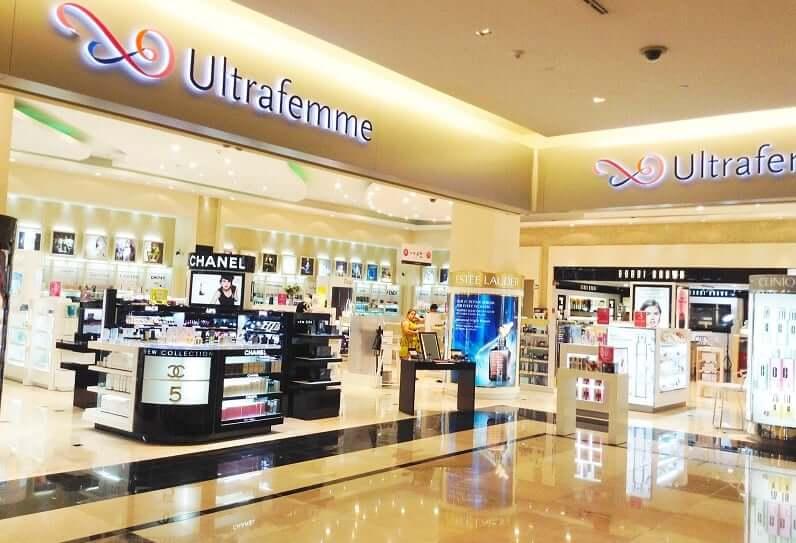 Tienda Ultrafemme para comprar perfumes en Cancún