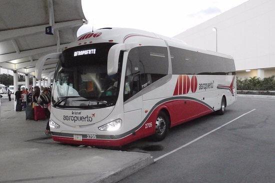 Trasladarse en autobús por Cancún