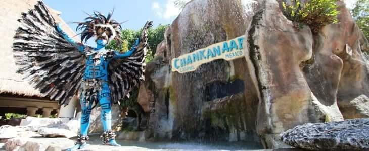 Parque Chankanaab en la Isla Cozumel en Cancún