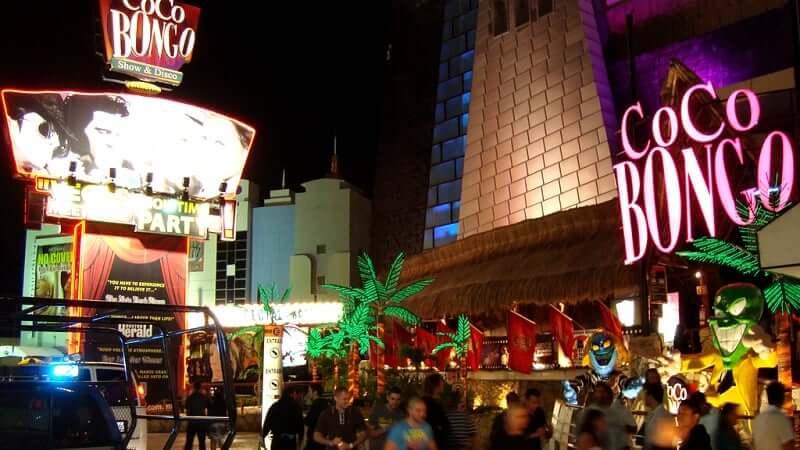 Discoteca Coco Bongo en Cancún