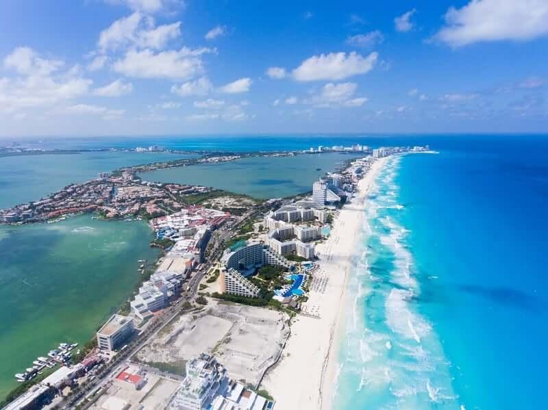 Playa Chac Mool en Cancún