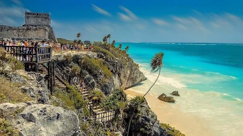 Ruinas de Tulum en México