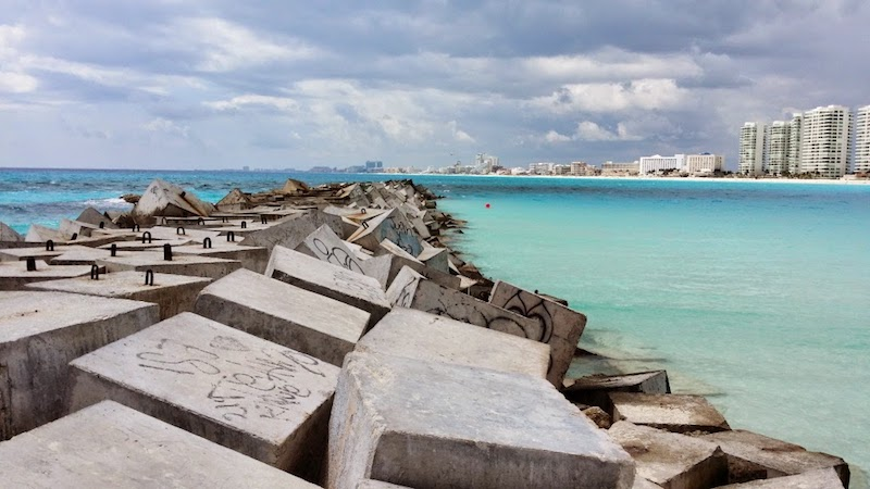 Playa pública Playa Caracol en Cancún