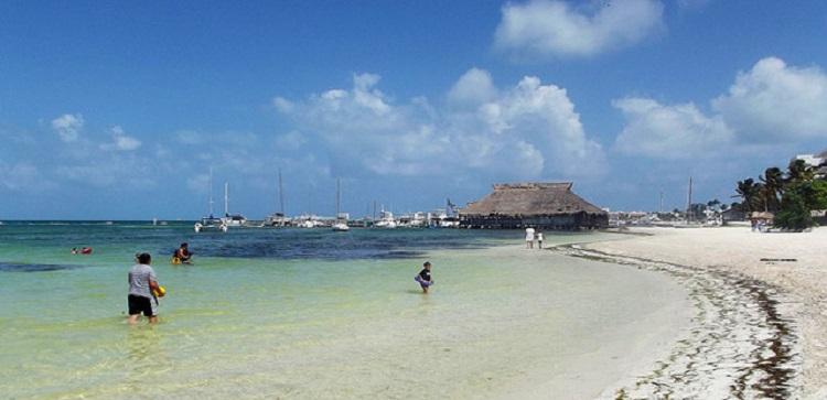 Playa Las Perlas en Cancún