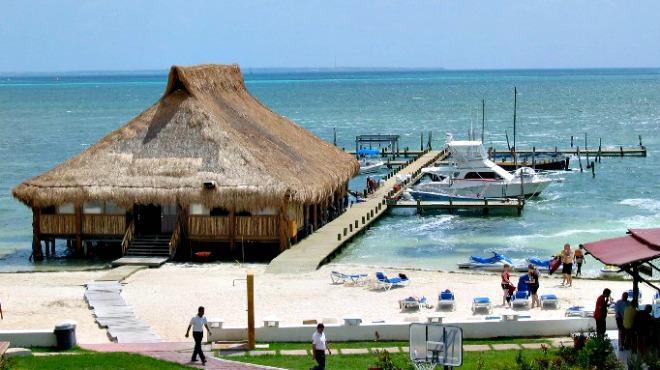 Ubicación de Playa Las Perlas en Cancún